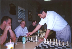GM B.Annakov playing a simul in Texas